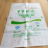 Sacchetto tessuto di stampa colorata per il grano di seme 25kg