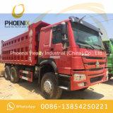 使用されたSinotruk HOWOは10アフリカのための車輪のダンプカーのダンプトラック6X4のよい状態をトラックで運ぶ