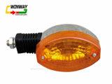 Luz de Turnning de la motocicleta Ww-7168, luz de Winker, para Cg125-6/K-80