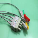 Nihon Kohden Br-019 3-Lead ECG Leitungsdrähte (AMD J0009I3B)