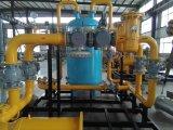 Unità di regolamento e di conteggio del gas naturale Pattino-Montato di pattino