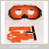 Casella corticale di Vr di realtà virtuale di vetro del teatro domestico 3D