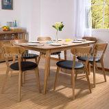 固体木のダイニングテーブルの居間の家具(M-X2407)