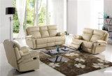 Mobilia di cuoio del sofà dell'Italia di svago (765)