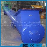 Cimento de aço inoxidável, grãos, transportador de parafuso de carvão