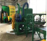 Qingdao-vollständiger Gummireifen-Reißwolf/verwendeter Reifen, der Maschine für Verkauf aufbereitet