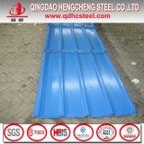 上塗を施してある鋼鉄を波形を付けられる着色しシートに屋根を付ける