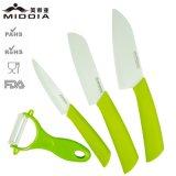 Utensílios de cozinha 3PCS faca de cerâmica conjunto com Peeler para cozinha Gadget