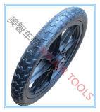 Pneumatiques roues en caoutchouc des pneus de bicyclette avec jante plastique