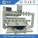 Máquina de madeira do router do CNC das multi cabeças com acessório giratório