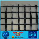 Acoplamiento de alta resistencia de Geogrid de la fibra de vidrio del refuerzo del asfalto de Strengh