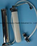 Candela filtrante di ceramica dell'acqua del filtrante dai 0.5 micron con il materiale e la vite uniti del blocchetto del carbonio in connettore