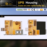 Chalet barato residencial permanente certificado Ce de la estructura de acero de DIY