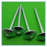 極度の品質の共通の円形の電流を通された鉄の釘/屋根ふきの釘