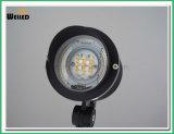 projector de controle remoto 9W do diodo emissor de luz de 2.4G RGBW para a luz da lâmpada do jardim