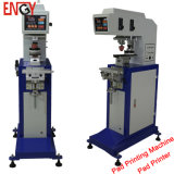 De enige Printer van het Stootkussen van de Kleur Milieu Mini Elektrische, de Machine van de Druk van het Stootkussen van de Kop van de Inkt