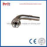 (20691 20691-T) Huatai 90の肘のメートル女性の炭素鋼のホースフィッティング