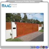 Châssis en aluminium 6000 visible pour la Maison et décoration de porte 6063 Mur rideau extérieure en aluminium