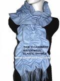 カシミヤ織のPlsの波のスカーフ