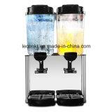 Kommerzielle elektrische Becken 36L 2 kalt oder heiße Frucht-Getränkezufuhr-Kühlvorrichtung