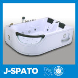 Design europeu transparente admirável banheira redonda exclusiva