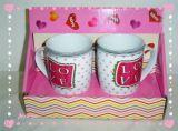 La Saint Valentin tasse avec boîte cadeau