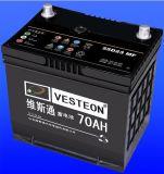 Bateria de automóvel chinesa 12V do tipo 70ah, baterias de /Car do barramento