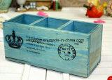 Contenitore di regalo di legno del contenitore su ordinazione di legno solido in alta qualità