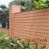 Resistencia UV WPC Revestimiento de pared exterior con 10 años de garantía