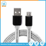 Carregamento de dados universal de 1 m cabo Micro USB para telefone