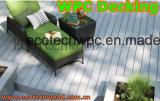 Più nuova doppia pavimentazione di colore WPC