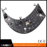 Schermo flessibile programmabile flessibile pieno dell'interno del quadro comandi del LED della visualizzazione di LED di colore P8 di prezzi più poco costosi con il certificato dell'UL