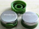 Tampão de alumínio com tampa plástica do abridor/frasco/tampa do frasco (SS4210-3)
