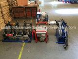 Сварочный аппарат сплавливания приклада трубы HDPE Dn90-315mm пластичный