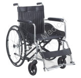 Стандартный хромированный стальной Инвалидная коляска (PH1809)