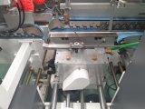 크래쉬 자물쇠 바닥을%s 가진 자동적인 접히는 접착제로 붙이는 기계
