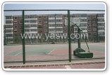 Pvc het Met een laag bedekte Schermen van de Privacy van de Link van de Ketting van de Speelplaats van Sporten (anjia-038)