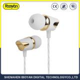 3.5Mm Plug-in Ear Wired deporte los auriculares para móvil