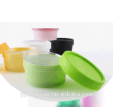 200g PP装飾的な包装のためのプラスチック顔マスクの瓶