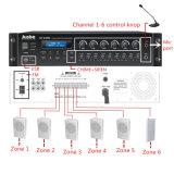 学校放送のサウンド・システム装置
