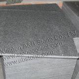 Em Basalto natural G684 Telhas, Pedra de calçada (preto chuva / pérola negra)