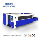 Металл пускает автомат для резки по трубам Lm3015hm3 лазера волокна с полным предохранением