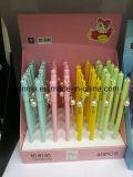 異なったカラー鎖が付いているプラスチック新しいデザイン球ペン