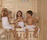 Divers type et on pièce sèche de sauna d'infrarouge lointain de taille