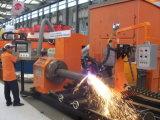 Taglio del plasma del tubo della tagliatrice del tubo della fiamma del plasma di CNC (CNCXG)