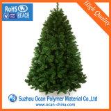 Roulis en plastique rigide vert de feuille de PVC pour les lames artificielles de Noël