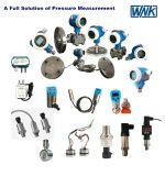Transmissor de pressão de aço inoxidável de 1-5V 4-20mA, sensor de pressão para uma medição de pressão de -100kpa ~ 60MPa