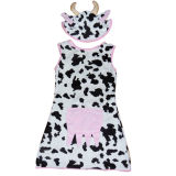 Plüsch-Karnevals-erwachsenes Kostüm - Milch-Kuh 200cm