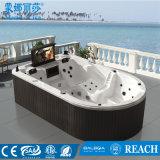 De OpenluchtDraaikolk Jacuzzi Hot Tub SPA van Monalisa met TV (m-3361)