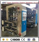 Impresora helicoidal flexográfica del rodillo del papel del engranaje de 4 colores (NX-A41000)